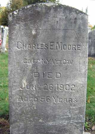 MOORE (CW), CHARLES E - Schenectady County, New York | CHARLES E MOORE (CW) - New York Gravestone Photos