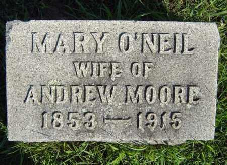 MOORE, MARY - Schenectady County, New York | MARY MOORE - New York Gravestone Photos