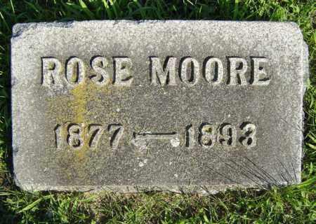 MOORE, ROSE - Schenectady County, New York | ROSE MOORE - New York Gravestone Photos