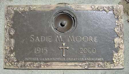 MOORE, SADIE M - Schenectady County, New York | SADIE M MOORE - New York Gravestone Photos