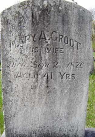 GROOT, MARY A - Schenectady County, New York   MARY A GROOT - New York Gravestone Photos