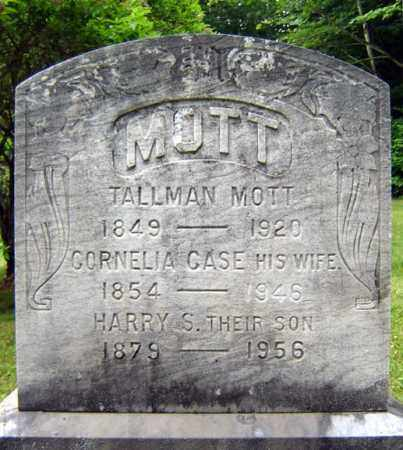 MOTT, TALLMAN - Schenectady County, New York   TALLMAN MOTT - New York Gravestone Photos