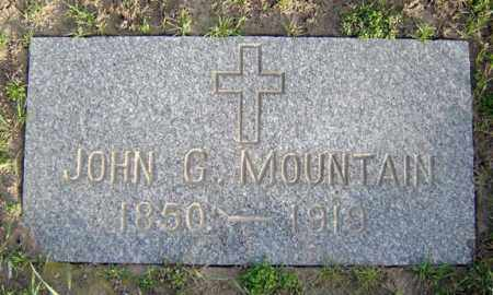 MOUNTAIN, JOHN G - Schenectady County, New York | JOHN G MOUNTAIN - New York Gravestone Photos