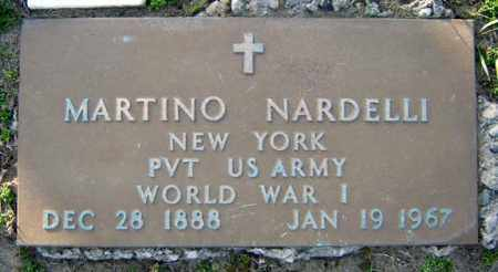 NARDELLI (WWI), MARTINO - Schenectady County, New York | MARTINO NARDELLI (WWI) - New York Gravestone Photos