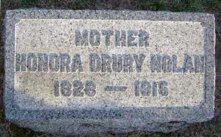 DRURY, HONORA - Schenectady County, New York | HONORA DRURY - New York Gravestone Photos