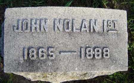 NOLAN, JOHN - Schenectady County, New York | JOHN NOLAN - New York Gravestone Photos