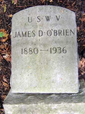 O'BRIEN, JAMES D - Schenectady County, New York | JAMES D O'BRIEN - New York Gravestone Photos