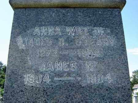 O'LEARY, ANNA - Schenectady County, New York | ANNA O'LEARY - New York Gravestone Photos