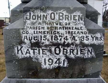 O'BRIEN, KATIE - Schenectady County, New York | KATIE O'BRIEN - New York Gravestone Photos