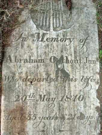 OOTHOUT, ABRAHAM - Schenectady County, New York | ABRAHAM OOTHOUT - New York Gravestone Photos