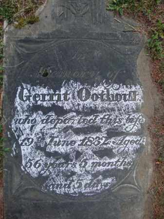 OOTHOUT, GERRIT - Schenectady County, New York | GERRIT OOTHOUT - New York Gravestone Photos