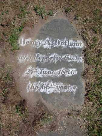 OOTHOUT, HENRY A - Schenectady County, New York | HENRY A OOTHOUT - New York Gravestone Photos