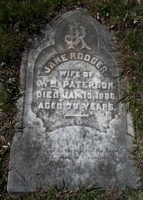 RODGER, JANE - Schenectady County, New York | JANE RODGER - New York Gravestone Photos