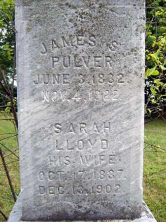 LLOYD PULVER, SARAH - Schenectady County, New York | SARAH LLOYD PULVER - New York Gravestone Photos