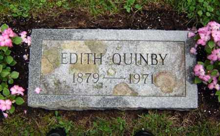QUINBY, EDITH - Schenectady County, New York | EDITH QUINBY - New York Gravestone Photos