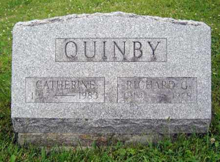 QUINBY, CATHERINE - Schenectady County, New York | CATHERINE QUINBY - New York Gravestone Photos