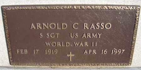 RASSO (WWII), ARNOLD C - Schenectady County, New York | ARNOLD C RASSO (WWII) - New York Gravestone Photos
