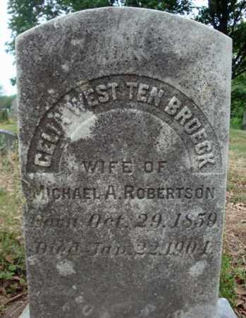 ROBERTSON, CELIA WEST - Schenectady County, New York | CELIA WEST ROBERTSON - New York Gravestone Photos