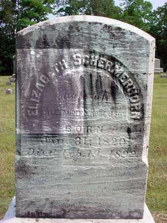 SCHERMERHORN, ELIZABETH - Schenectady County, New York | ELIZABETH SCHERMERHORN - New York Gravestone Photos