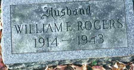 ROGERS, WILLIAM ELMER - Schenectady County, New York | WILLIAM ELMER ROGERS - New York Gravestone Photos