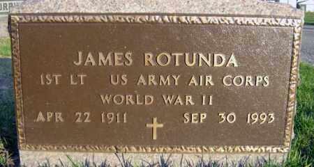 ROTUNDA (WWII), JAMES - Schenectady County, New York | JAMES ROTUNDA (WWII) - New York Gravestone Photos