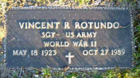 ROTUNDO (WWII), VINCENT R - Schenectady County, New York | VINCENT R ROTUNDO (WWII) - New York Gravestone Photos