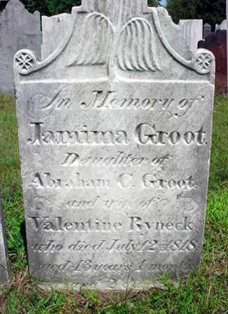 GROOT, JAMIMA - Schenectady County, New York | JAMIMA GROOT - New York Gravestone Photos