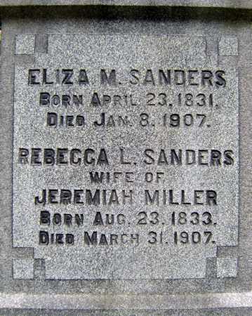 MILLER, REBECCA L - Schenectady County, New York | REBECCA L MILLER - New York Gravestone Photos