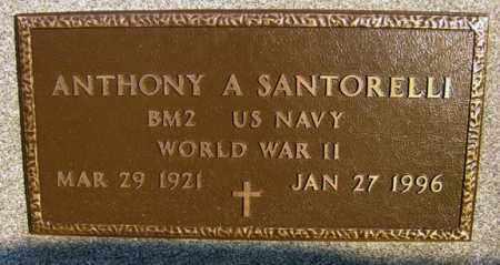 SANTORELLI (WWII), ANTHONY A - Schenectady County, New York   ANTHONY A SANTORELLI (WWII) - New York Gravestone Photos