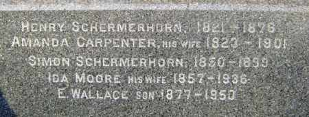 SCHERMERHORN, SIMON - Schenectady County, New York | SIMON SCHERMERHORN - New York Gravestone Photos
