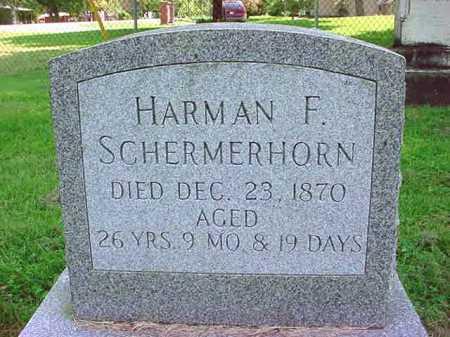 SCHERMERHORN, HARMAN F - Schenectady County, New York | HARMAN F SCHERMERHORN - New York Gravestone Photos