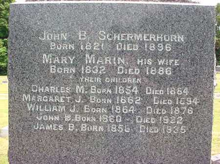 SCHERMERHORN, WILLIAM J - Schenectady County, New York | WILLIAM J SCHERMERHORN - New York Gravestone Photos