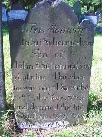SCHERMERHORN, JOHN - Schenectady County, New York | JOHN SCHERMERHORN - New York Gravestone Photos