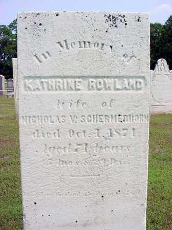 SCHERMERHORN, KATHRINE - Schenectady County, New York | KATHRINE SCHERMERHORN - New York Gravestone Photos
