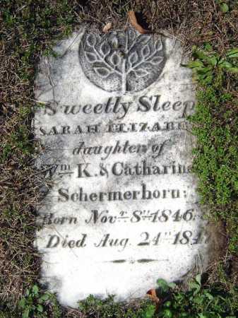 SCHERMERHORN, SARAH ELIZABETH - Schenectady County, New York   SARAH ELIZABETH SCHERMERHORN - New York Gravestone Photos