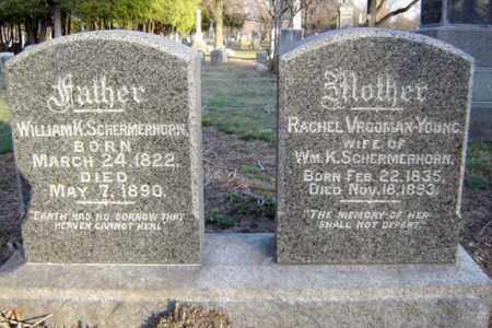 SCHERMERHORN, WILLIAM K - Schenectady County, New York | WILLIAM K SCHERMERHORN - New York Gravestone Photos
