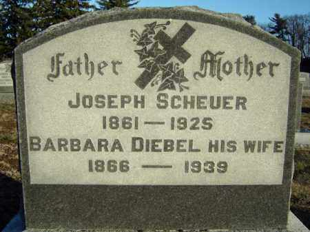 SCHEUER, BARBARA - Schenectady County, New York | BARBARA SCHEUER - New York Gravestone Photos
