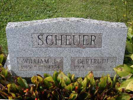 SCHEUER, WILLIAM J - Schenectady County, New York | WILLIAM J SCHEUER - New York Gravestone Photos
