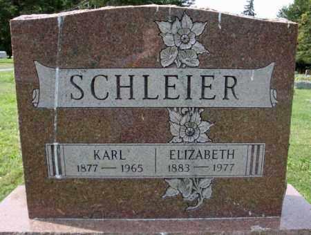 SCHLEIER, ELIZABETH - Schenectady County, New York   ELIZABETH SCHLEIER - New York Gravestone Photos