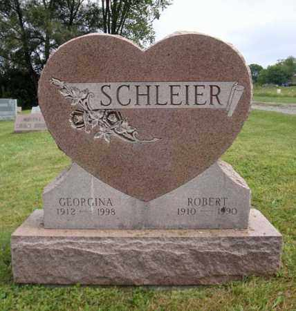SCHLEIER, GEORGINA - Schenectady County, New York | GEORGINA SCHLEIER - New York Gravestone Photos