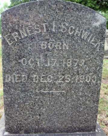 SCHWILK, ERNEST I - Schenectady County, New York   ERNEST I SCHWILK - New York Gravestone Photos