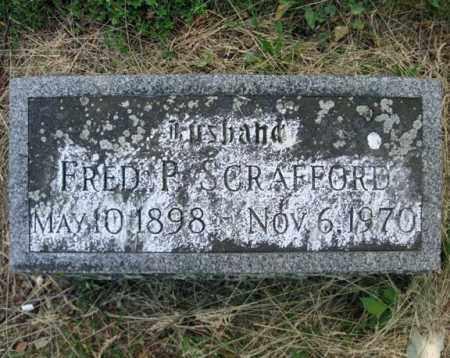 SCRAFFORD, FRED P - Schenectady County, New York | FRED P SCRAFFORD - New York Gravestone Photos
