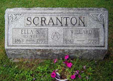 SCRANTON, ELLA S - Schenectady County, New York | ELLA S SCRANTON - New York Gravestone Photos