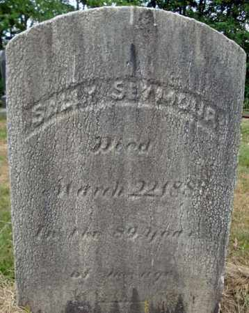SEYMOUR, SALLY - Schenectady County, New York | SALLY SEYMOUR - New York Gravestone Photos