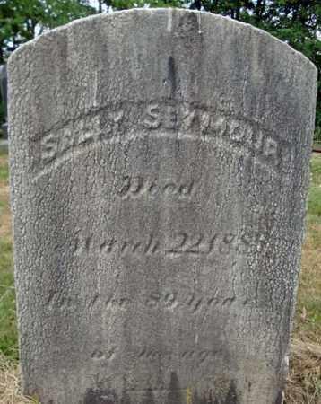 SEYMOUR, SALLY - Schenectady County, New York | SALLY SEYMOUR - New York Gravestone Photos