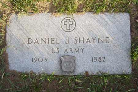 SHAYNE (WWII), DANIEL J - Schenectady County, New York | DANIEL J SHAYNE (WWII) - New York Gravestone Photos