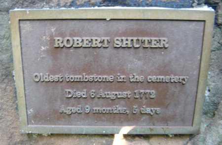 SHUTER, ROBERT - Schenectady County, New York | ROBERT SHUTER - New York Gravestone Photos