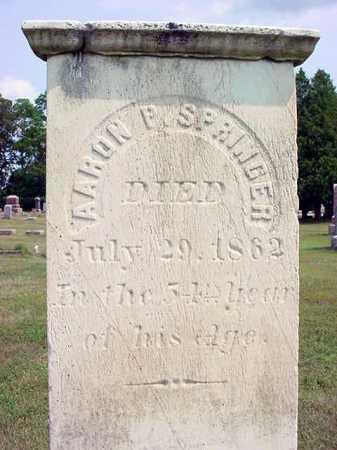 SPRINGER, AARON P - Schenectady County, New York | AARON P SPRINGER - New York Gravestone Photos