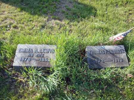 LEWIS, EMMA A - Schenectady County, New York | EMMA A LEWIS - New York Gravestone Photos