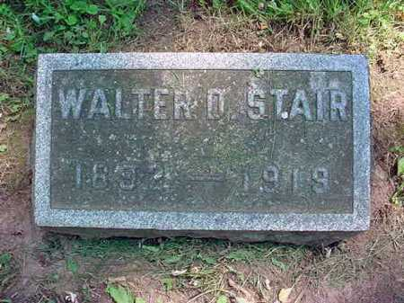 STAIR, WALTER D - Schenectady County, New York | WALTER D STAIR - New York Gravestone Photos